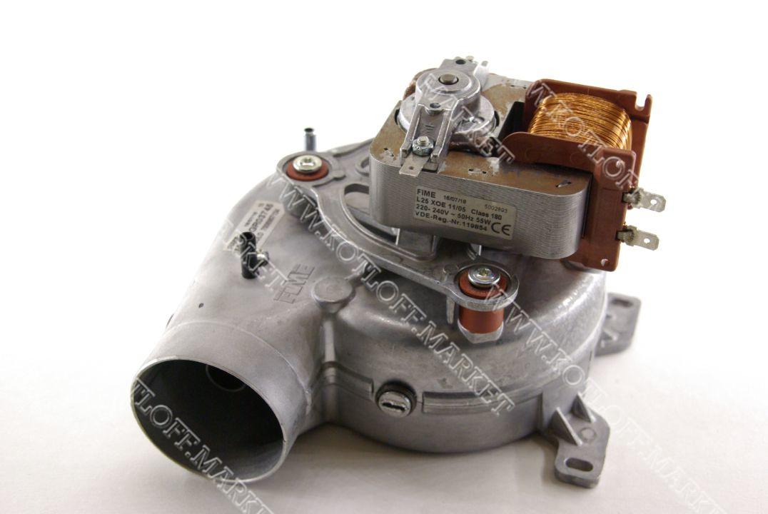Вентилятор (турбина) на газовый котел Ferroli DIVAtech арт. 398907134