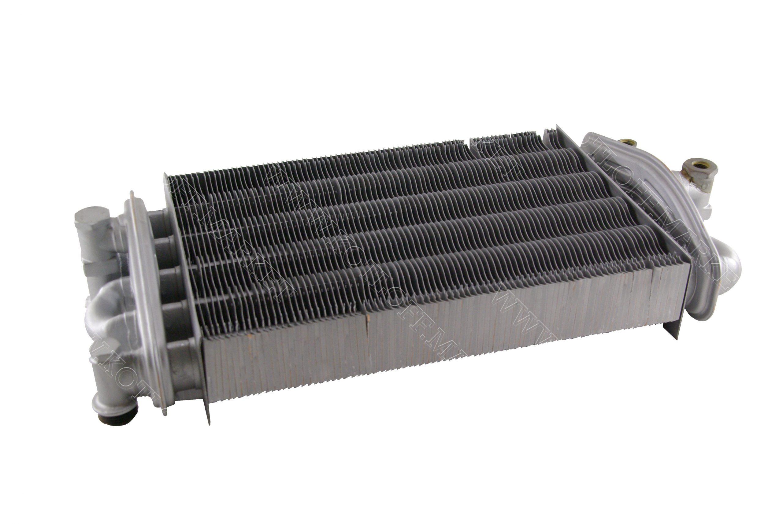 Теплообменник битермический Valmex (Италия) на газовые котлы Protherm