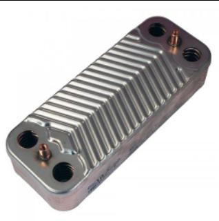 Теплообменник вторичный Swep (192X154) 16 пластин на газовый котел Viessmann арт. 7928747