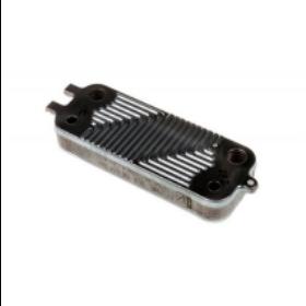Теплообменник вторичный Swep 16 пластин на газовый котел Bosch/Buderus/Junkers арт. 8716771987, 87167710390