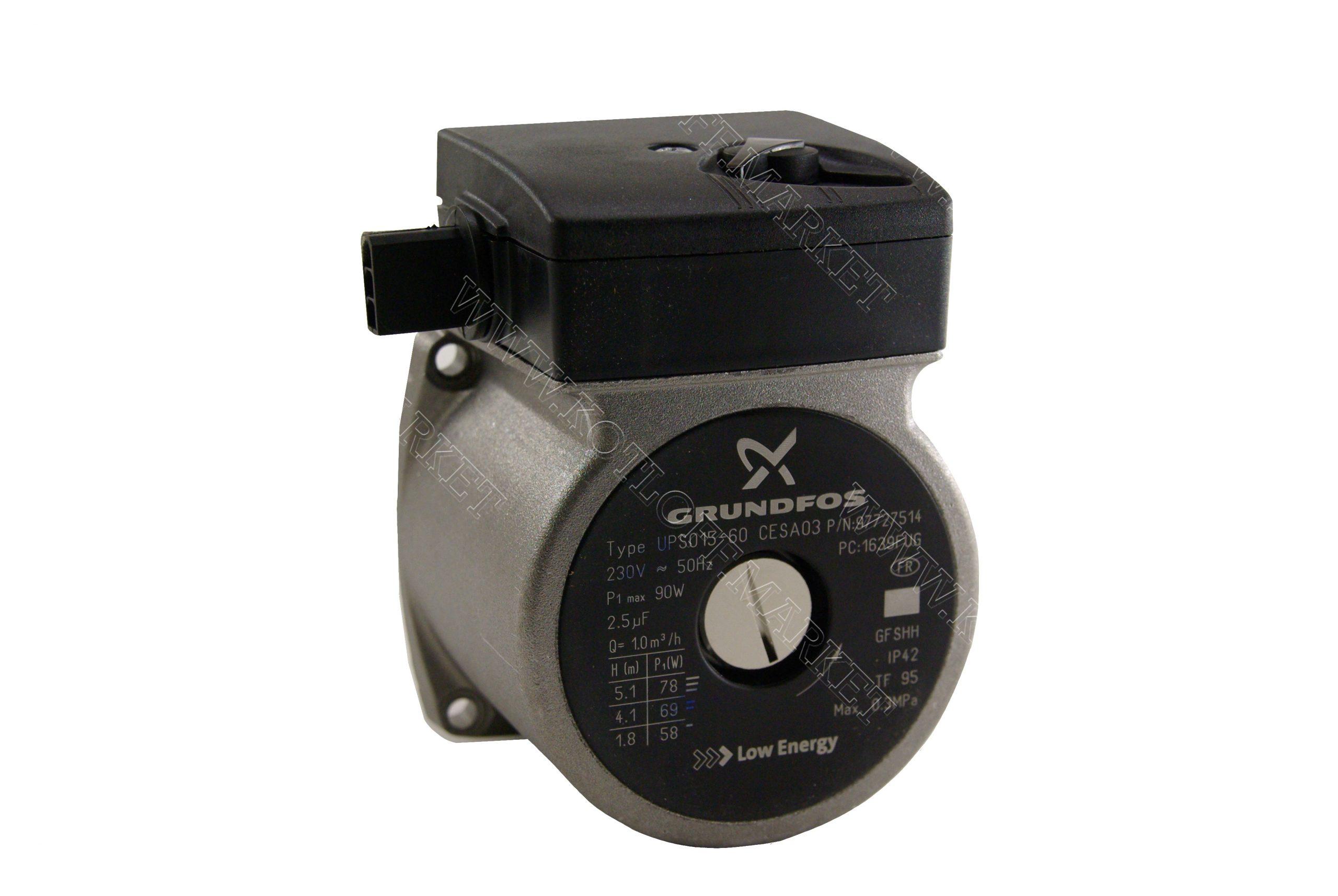 Двигатель циркуляционного насоса Grundfos UPS 15-60 110W