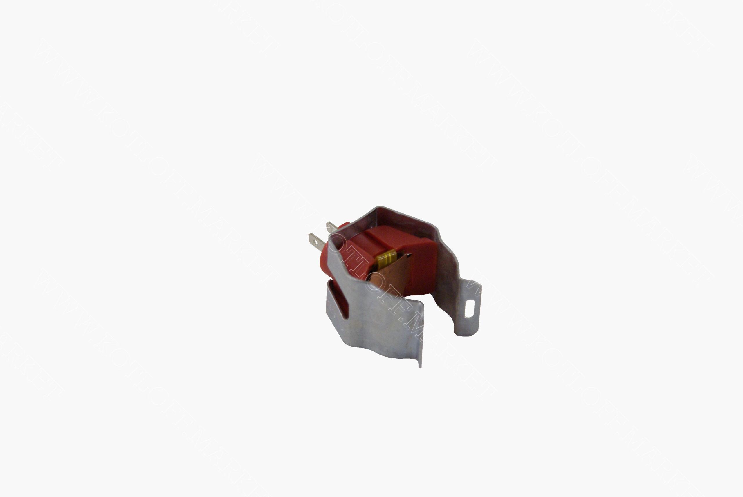 Датчик температуры ntc накладной красный (диаметр крепежной скобы 18мм)