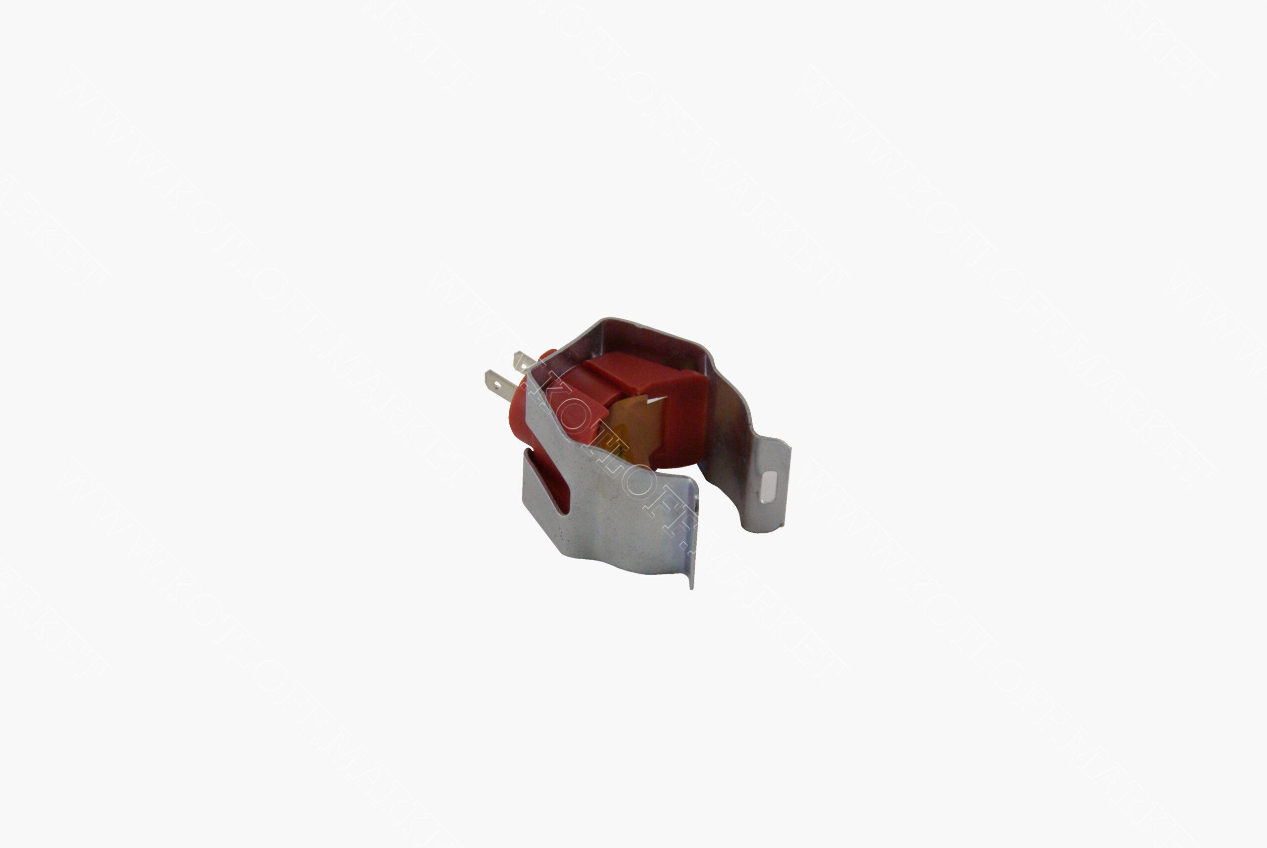 Датчик температуры ntc накладной красный (диаметр крепежной скобы 14 мм)