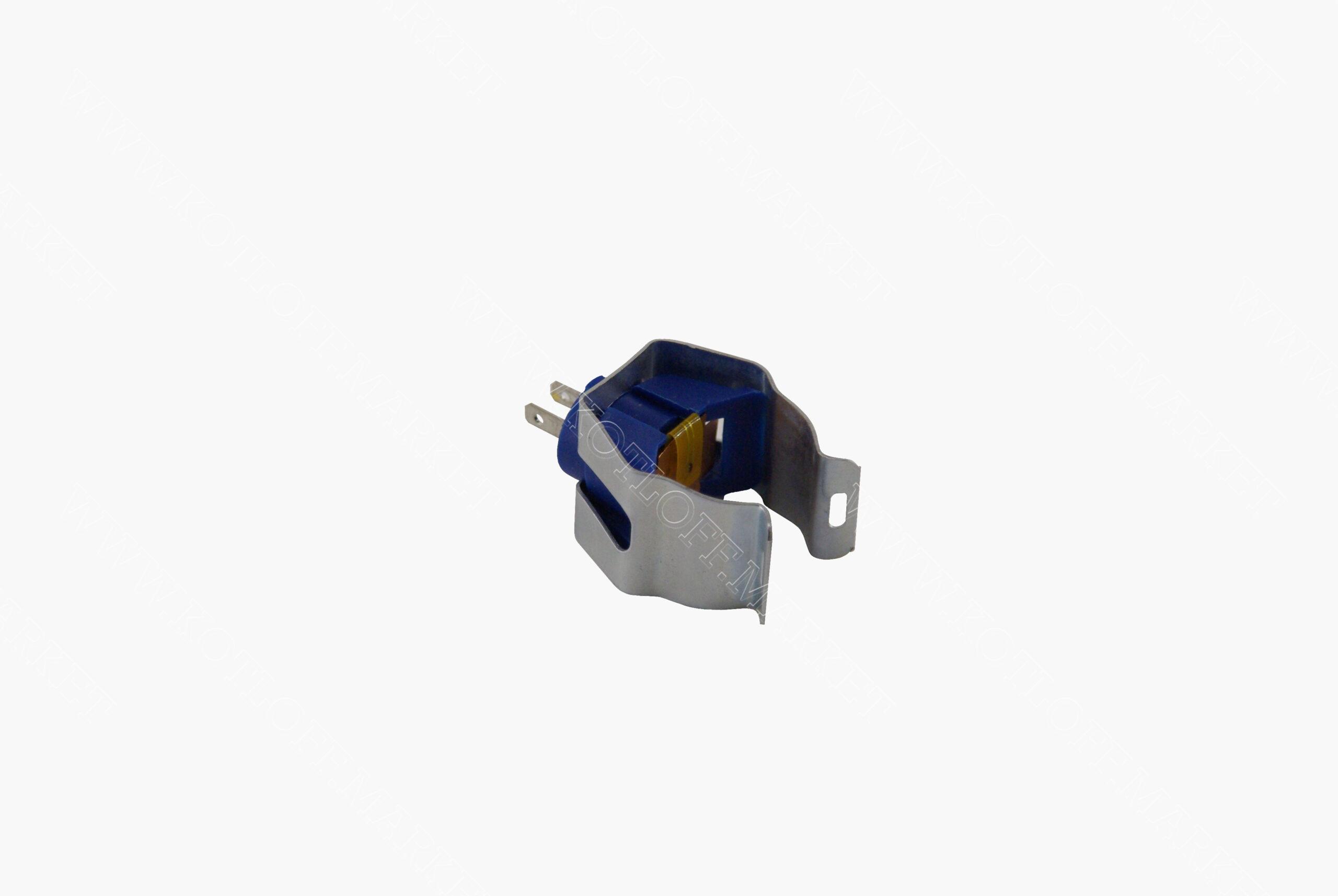 Датчик температуры ntc накладной синий (диаметр крепежной скобы 18мм)