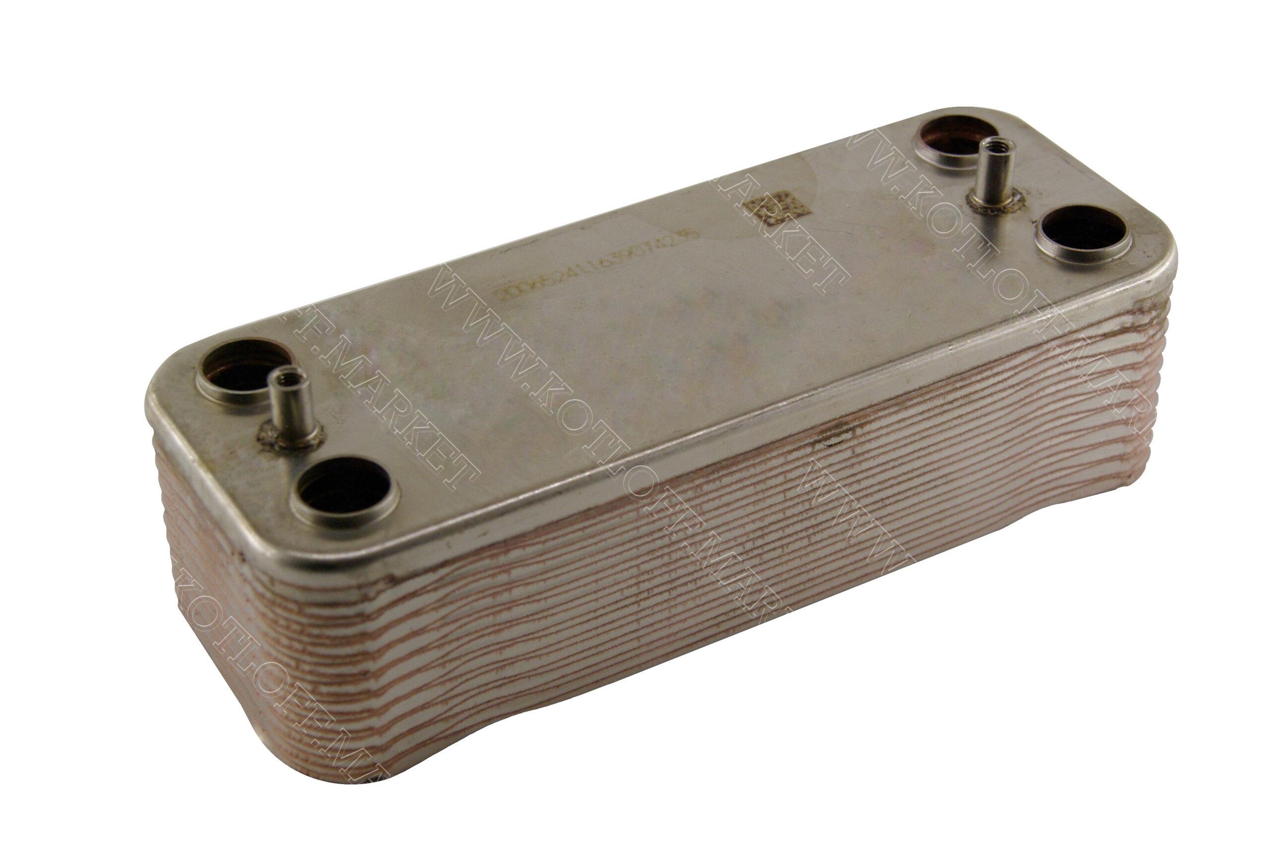 Теплообменник вторичный Swep (210X156,5) 18 пластин. 110362